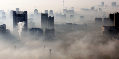 this china about two years ago. The pollution got so bad in stayed in the city because of it.